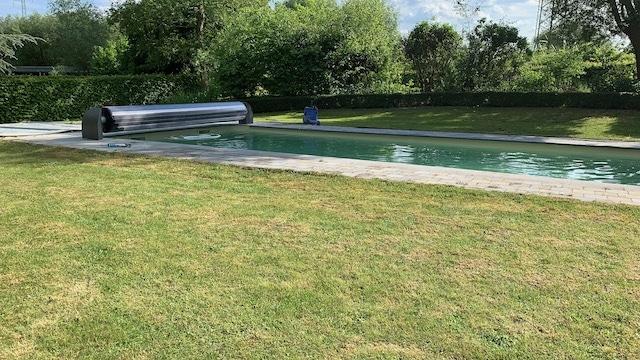 Zwembad rolluik opbouw